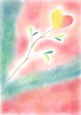 シータさんのパステル画