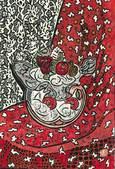 奄美の風さん作『赤布かけ椅子とフラワーポット』