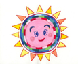 Keikoさんの絵 ~太陽