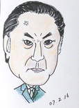 静香さんの似顔絵