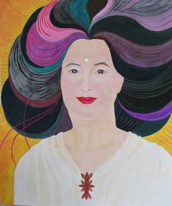 atsukoさんの自画像