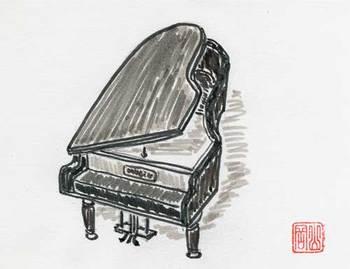 ハイエコポンさんの『ピアノ』