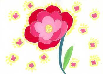 Keikoさんの絵 ~花