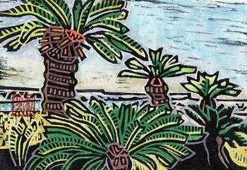 『珊瑚礁とそてつ』 奄美の風さん作