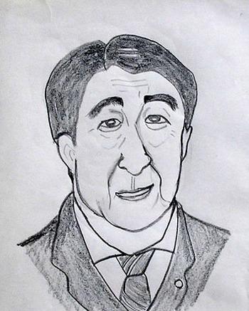 静香さん作の似顔絵
