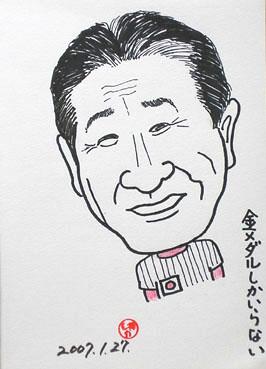 静香さんの似顔絵~仙さん