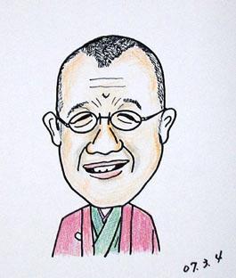 静香さんの似顔絵 ~笑福亭鶴瓶
