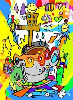taoさんのイラスト『シータさんの絵本へのオマージュ』