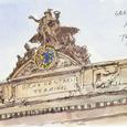 グランド・セントラル駅の彫像